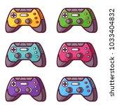 video game controller icon....   Shutterstock .eps vector #1033404832