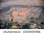 Aerial View Of Luxor City And...