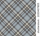 plaid check pattern in dusty... | Shutterstock .eps vector #1033407805
