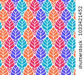 seamless abstract pattern with... | Shutterstock .eps vector #1033421452
