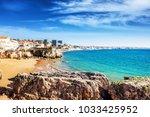 cascais  portugal  beautiful...   Shutterstock . vector #1033425952