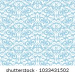floral pattern. wallpaper... | Shutterstock . vector #1033431502