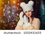 magician and numerology | Shutterstock . vector #1033431655