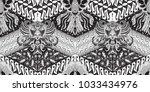 batik motif repeated pattern of ...