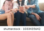 family members are using... | Shutterstock . vector #1033435642