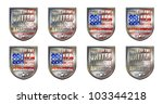 made in the united states of...   Shutterstock . vector #103344218