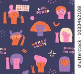international women day...   Shutterstock .eps vector #1033462108