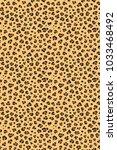 leopard seamless texture... | Shutterstock .eps vector #1033468492