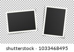 set of vintage photo frames... | Shutterstock .eps vector #1033468495