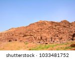 petra  jordan   april 25  2016  ... | Shutterstock . vector #1033481752