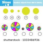 children educational game.... | Shutterstock .eps vector #1033486936
