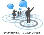 social network  people... | Shutterstock .eps vector #1033499485