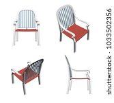a set of chairs from different... | Shutterstock .eps vector #1033502356