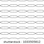 seamless vector pattern in... | Shutterstock .eps vector #1033505812