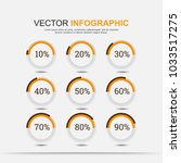 infographic elements chart... | Shutterstock .eps vector #1033517275