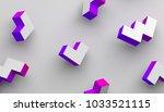 abstract 3d rendering of... | Shutterstock . vector #1033521115