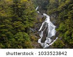 wild landscape  south island ... | Shutterstock . vector #1033523842
