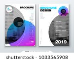 brochure template layout  cover ... | Shutterstock .eps vector #1033565908