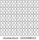 seamless geometric ornamental... | Shutterstock .eps vector #1033588012
