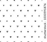 polka dot doodle hand drawn... | Shutterstock .eps vector #1033591876