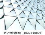 abstract 3d minimalistic...   Shutterstock . vector #1033610806