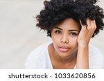 close up portait of beautiful...   Shutterstock . vector #1033620856