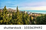 view of the city of sochi  the... | Shutterstock . vector #1033639492