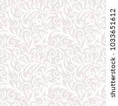 seamless background baroque... | Shutterstock .eps vector #1033651612