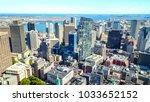 boston  usa  october 10  2017 ... | Shutterstock . vector #1033652152