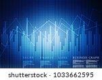 2d rendering stock market... | Shutterstock . vector #1033662595