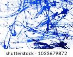 abstract art creative... | Shutterstock . vector #1033679872