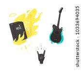 Vector Flat Music Symbols Set....
