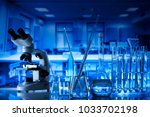 science concept. laboratory... | Shutterstock . vector #1033702198