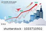 candlestick strategy indicator... | Shutterstock .eps vector #1033710502