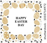 vector illustrations of easter... | Shutterstock .eps vector #1033714972
