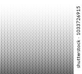 halftone dotted pattern. vector ... | Shutterstock .eps vector #1033726915