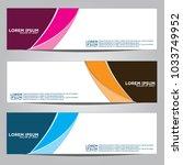 vector design banner... | Shutterstock .eps vector #1033749952