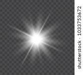 vector bright light effect...   Shutterstock .eps vector #1033753672