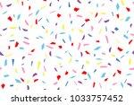 seamless texture of festive... | Shutterstock .eps vector #1033757452