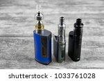 e   cigarette for vaping  ... | Shutterstock . vector #1033761028