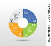business infograpic template...   Shutterstock .eps vector #1033785262