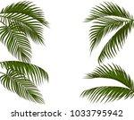 different in form tropical dark ...   Shutterstock .eps vector #1033795942
