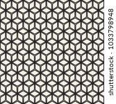 vector seamless pattern. modern ... | Shutterstock .eps vector #1033798948