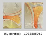 abstract cover template with... | Shutterstock .eps vector #1033805062
