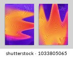 abstract cover template with... | Shutterstock .eps vector #1033805065