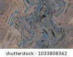 digital tiles design wall paper | Shutterstock . vector #1033808362