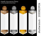 an image of a health insurance... | Shutterstock .eps vector #1033823926