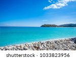 the island of spinalonga is...   Shutterstock . vector #1033823956