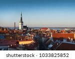 skyline of tallinn  estonia | Shutterstock . vector #1033825852