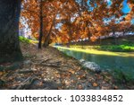 Lithaios River At Trikala Town...
